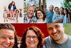 Denise McKinnon Family Collage - Small