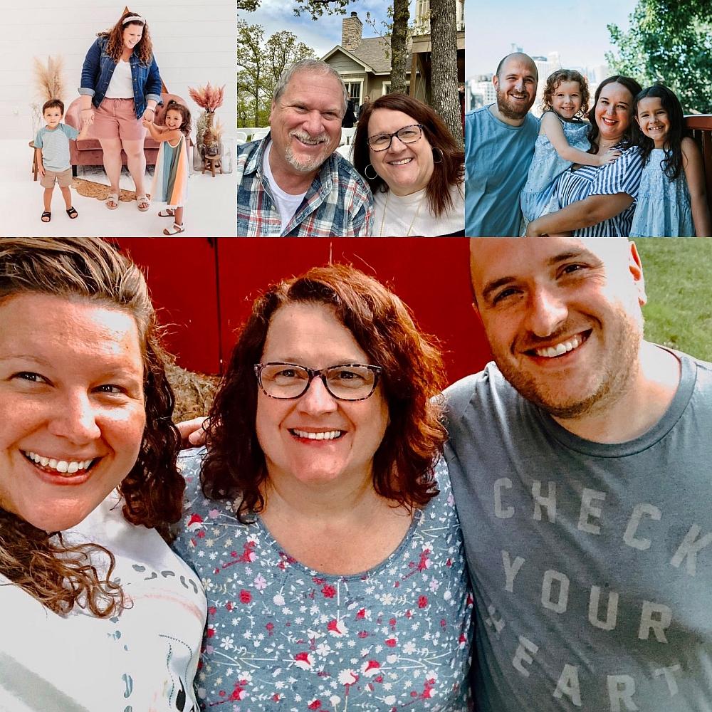 Denise McKinnon Family Collage